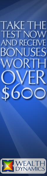 wealth dynamics profile test bonus